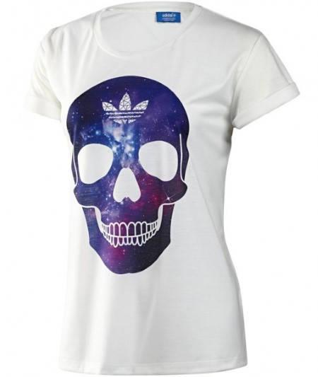 Дамска Тениска ADIDAS Originals Ladies Skull T-Shirt 200604