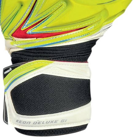 Вратарски Ръкавици REUSCH Keon Deluxe G1 401110 KEON DELUXE G1 LIME GREEN/WH/3170905-501 изображение 5