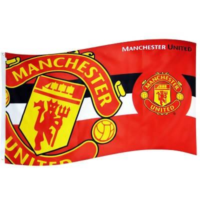 Знаме MANCHESTER UNITED Flag HZ 500464b b05flamuhz