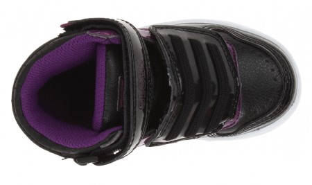 Детски Кецове GLOBE Superfly-Kids Velcro W13 300255 30302400303 - BLACK DARK PURPLE изображение 5