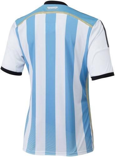 Официална Фланелка Аржентина ARGENTINA 2014 World Cup Home Kit 500977  изображение 3