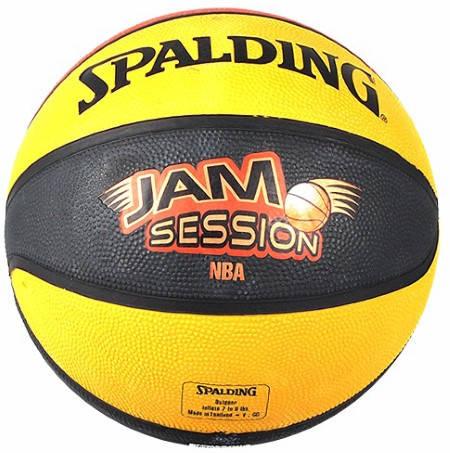 Баскетболна Топка SPALDING 2010 Jam Session Color Rubber Basketball 400960 73-551Z изображение 2