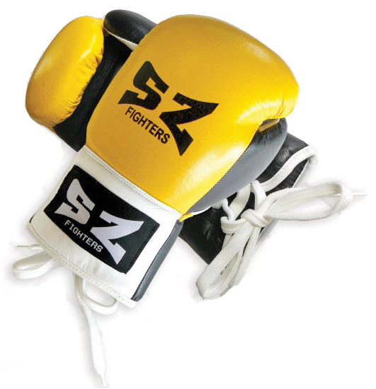 Боксови Ръкавици SZ FIGHTERS Leather Boxing Gloves 401614