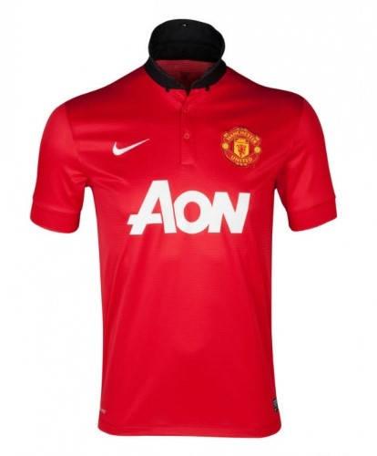 Мъжка Тениска NIKE Manchester United Mens Home Shirt 13/14 100646  изображение 3