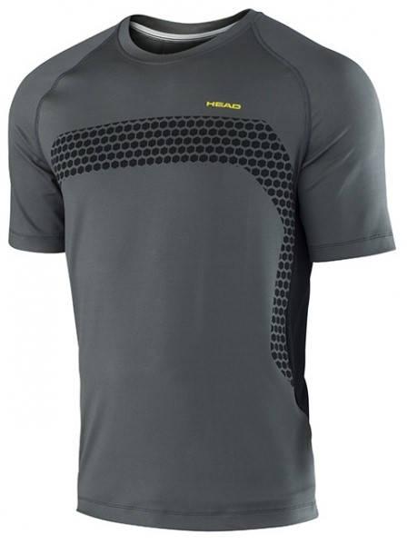Мъжка Тениска HEAD Performance Crew T-Shirt SS15 101284 811065-AN