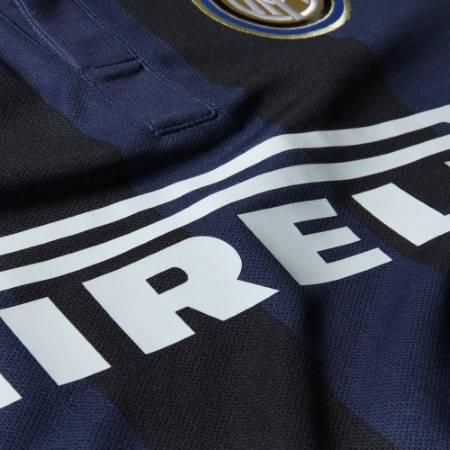 Официална Фланелка Интер INTER Mens Home Shirt 13-14 500892  изображение 6