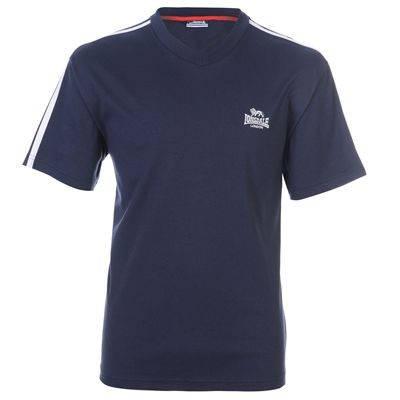 Мъжка Тениска LONSDALE V Neck T-Shirt 100996 130242