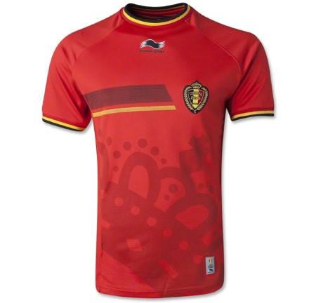 Официална Фланелка Белгия BELGIUM 2014 World Cup Home Kit 501050
