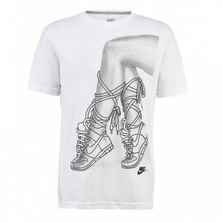 Мъжка Тениска NIKE Footwork Tee 100722 589789-100 изображение 2