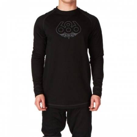 Мъжка Термо Блуза 686 Direct Base Layer Top W13 101014 30307200047-BLACK изображение 2