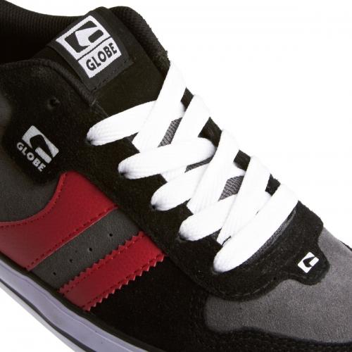Мъжки Обувки GLOBE Encore 2 S13 100633b 30302400281 - BLACK/CHARCOAL/RED изображение 5