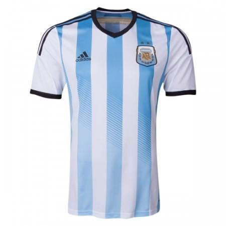 Официална Фланелка Аржентина ARGENTINA 2014 World Cup Home Kit 500977  изображение 2