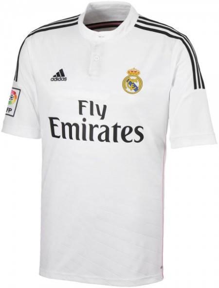 Официална Фланелка Реал Мадрид REAL MADRID Mens Home Shirt 14-15 501071