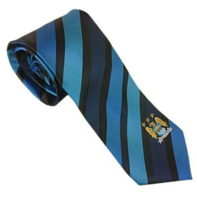 Вратовръзка MANCHESTER CITY Tie Navy 500474