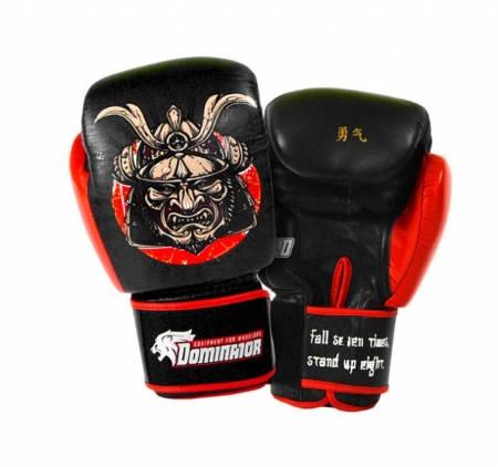 Боксови Ръкавици DOMINATOR Boxing Gloves Samurai Leather 401979 15221
