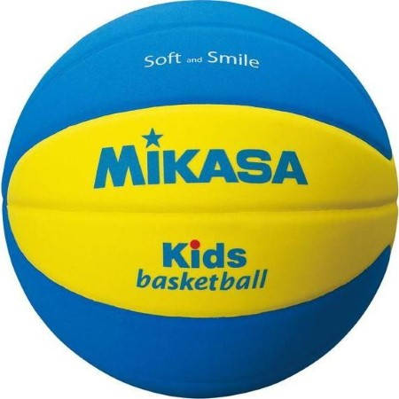 Баскетболна Топка MIKASA EVA Foam Kids Basketball Super Soft Grip SB5-YBL 401701
