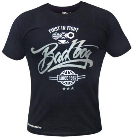 Мъжка Тениска BAD BOY Script T-Shirt 101221