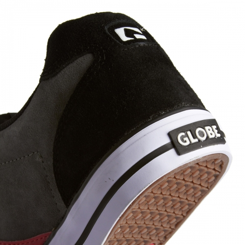 Мъжки Обувки GLOBE Encore 2 S13 100633b 30302400281 - BLACK/CHARCOAL/RED изображение 6