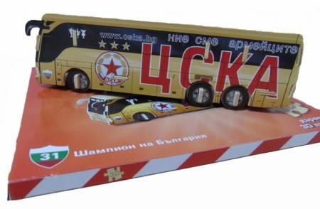 3D Пъзел CSKA 3D Bus Puzzle 501225
