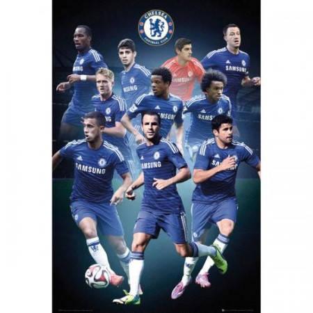 Плакат CHELSEA Poster Players 55 500995a b20posch55