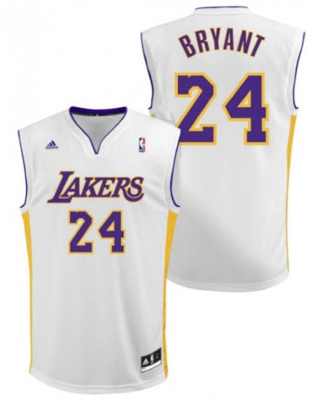 Официален Екип NBA LOS ANGELES Kobe Bryant Adidas Jersey 101294a