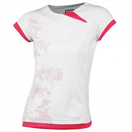 Дамска Тениска HEAD Competition Women T-Shirt 200573 814141-WHDP изображение 4