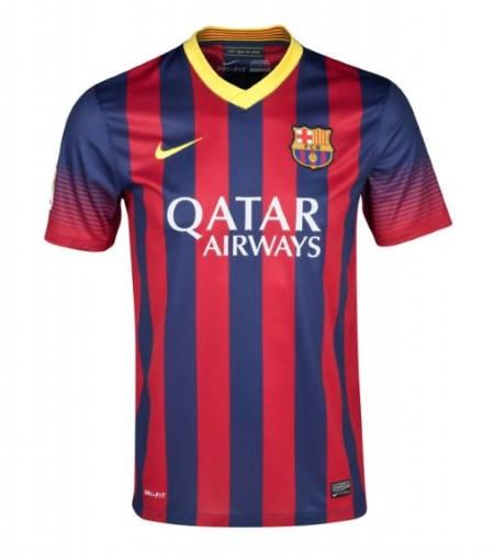 Мъжка Тениска NIKE Barcelona Mens Home Shirt 13/14 100642