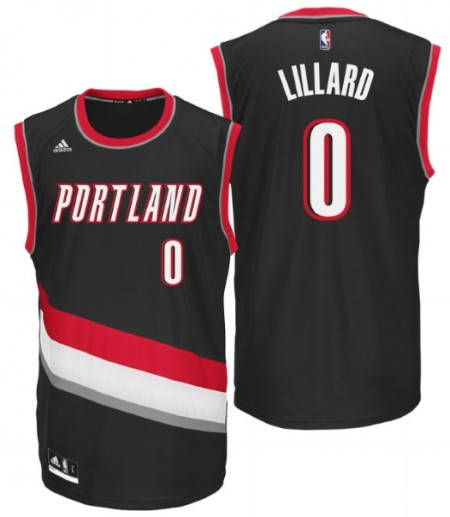 Официален Екип NBA PORTLAND TRAILBLAZERS Damian Lillard Adidas Jersey 101301