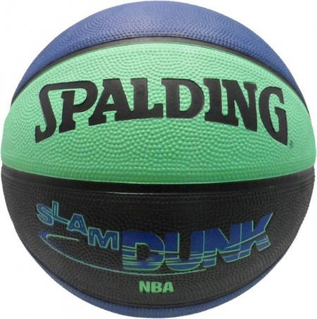 Баскетболна Топка SPALDING Slam Dunk Color Rubber Basketball 400961 73-553Z
