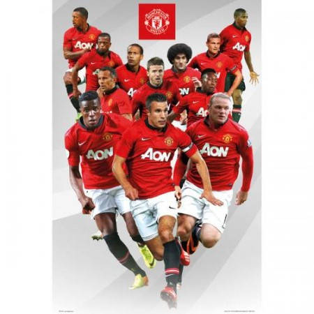 Плакат MANCHESTER UNITED Poster Players 500971