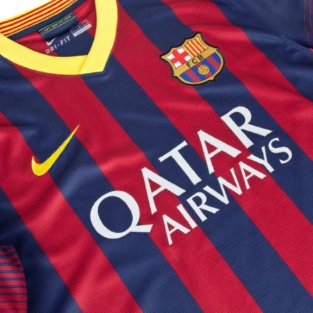 Мъжка Тениска NIKE Barcelona Mens Home Shirt 13/14 100642  изображение 3