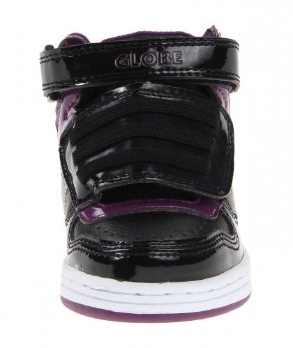 Детски Кецове GLOBE Superfly-Kids Velcro W13 300255 30302400303 - BLACK DARK PURPLE изображение 3