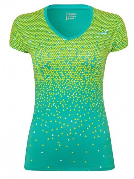 Дамска Тениска HEAD Whiz T-Shirt V-Neck SS14 200565 WHIZ T-SHIRT V-NECK814114 - TELM HD SS14