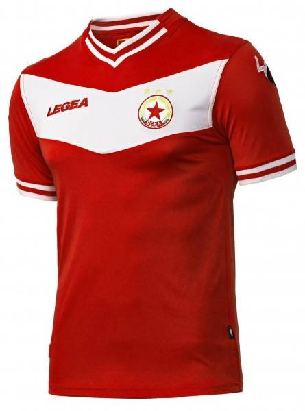 Официална Фланелка ЦСКА CSKA Legea Home Shirt 2014-2015 501189