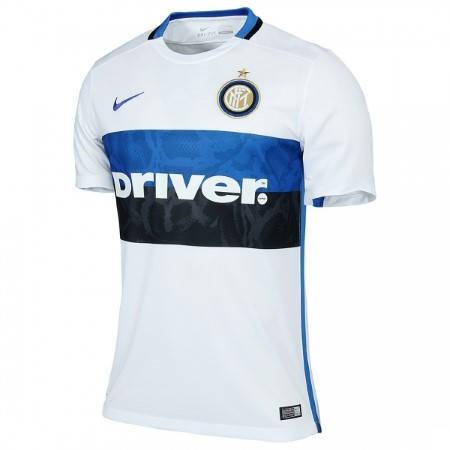 Официална Фланелка Интер INTER Mens Away Shirt 15-16 501456a