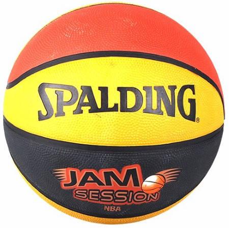 Баскетболна Топка SPALDING 2010 Jam Session Color Rubber Basketball 400960 73-551Z
