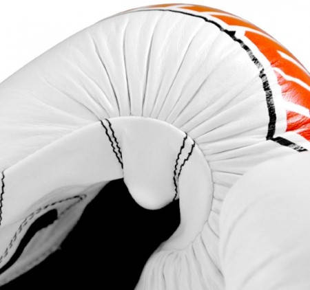Боксови Ръкавици DOMINATOR Boxing Gloves Logo Print Leather 401983a 15250 изображение 2