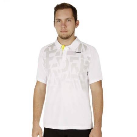 Мъжка Тениска HEAD Ari Men T-Shirt SS15 101285 811275-WHSI изображение 4