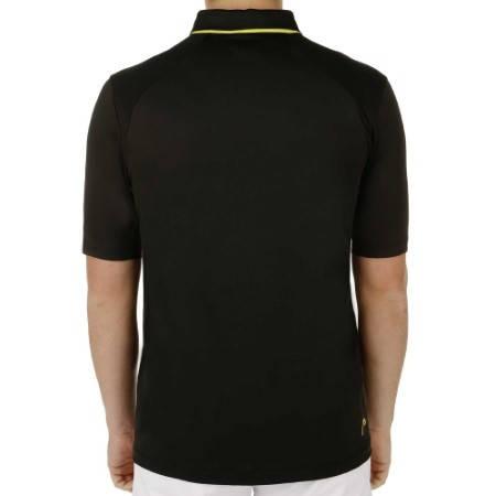 Мъжка Тениска HEAD Performance Polo Shirt Men SS15 101286 811085-BK изображение 3