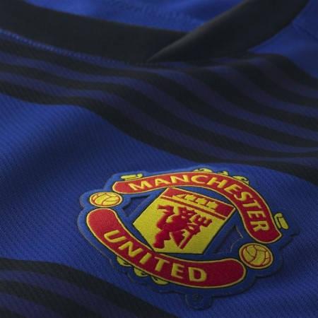 Официална Фланелка Манчестър Юнайтед MANCHESTER UNITED Mens Away Shirt 12-13 501439 423935-403-Ивко изображение 3