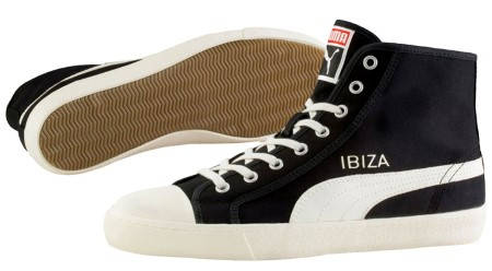 Мъжки Кецове PUMA Ibiza Mid NM Sneakers 101368 356534-01 изображение 3