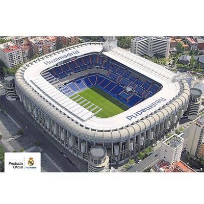 Плакат REAL MADRID Poster Stadium 69 501321 b20posrm69