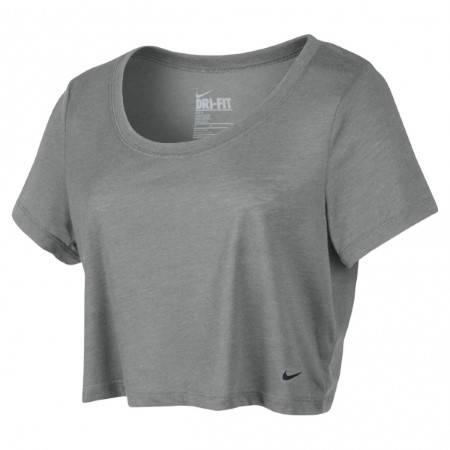 Дамска Тениска NIKE Loose Tri-Blend Cropped Scoop 200446 522198-063