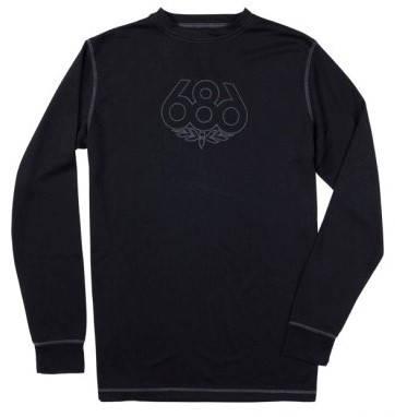 Мъжка Термо Блуза 686 Direct Base Layer Top W13 101014 30307200047-BLACK