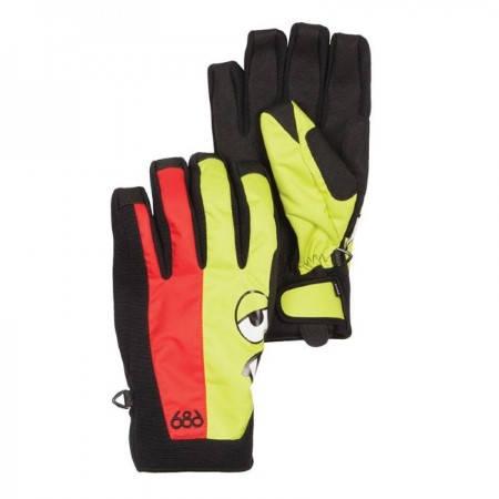Ски/Сноуборд Ръкавици 686 Snaggleface II Pipe Glove W13 401409 30307100283-CHILI