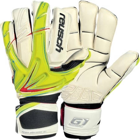 Вратарски Ръкавици REUSCH Keon Deluxe G1 401110 KEON DELUXE G1 LIME GREEN/WH/3170905-501 изображение 2