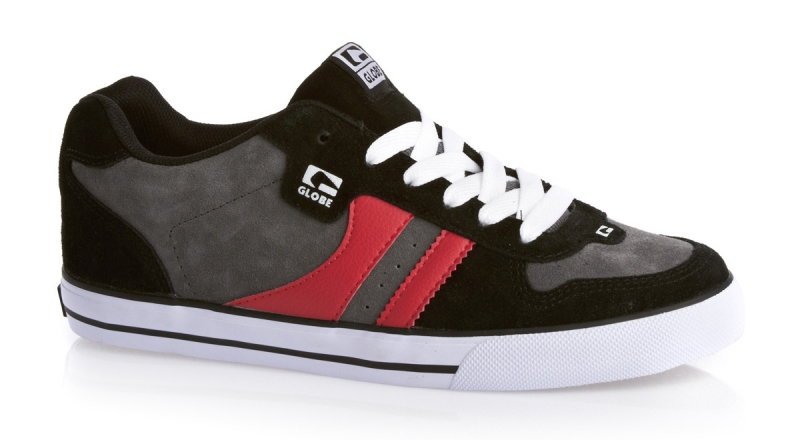 Мъжки Обувки GLOBE Encore 2 S13 100633b 30302400281 - BLACK/CHARCOAL/RED