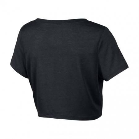 Дамска Тениска NIKE Loose Tri-Blend Cropped Scoop 200446a 522198-010 изображение 2
