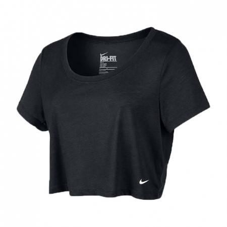 Дамска Тениска NIKE Loose Tri-Blend Cropped Scoop 200446a 522198-010