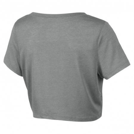 Дамска Тениска NIKE Loose Tri-Blend Cropped Scoop 200446 522198-063 изображение 2